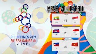 [ Full Match ] SEA GAMES 2019 : INDONESIA VS CAMBODIA   MENS VOLLEYBALL