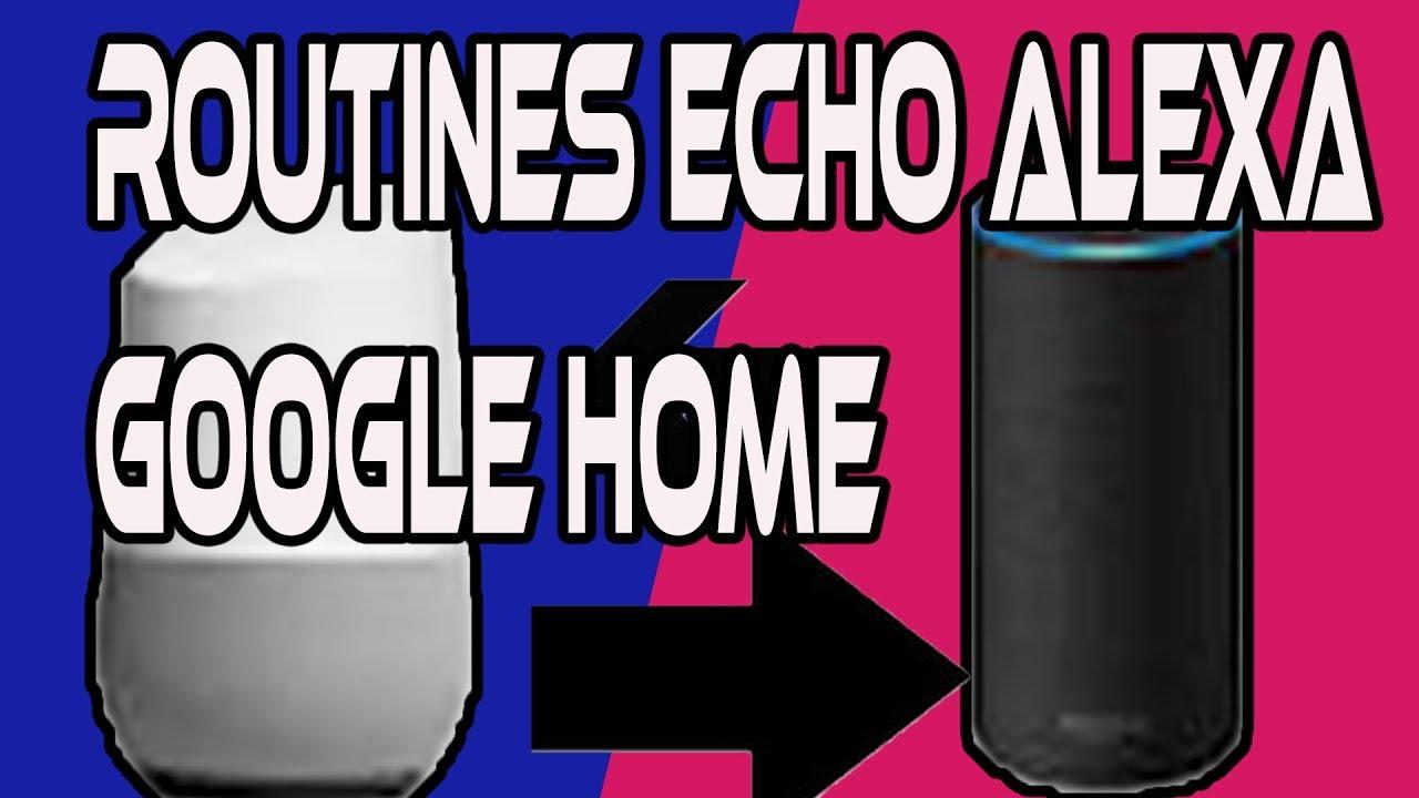 comparatif alexa google home