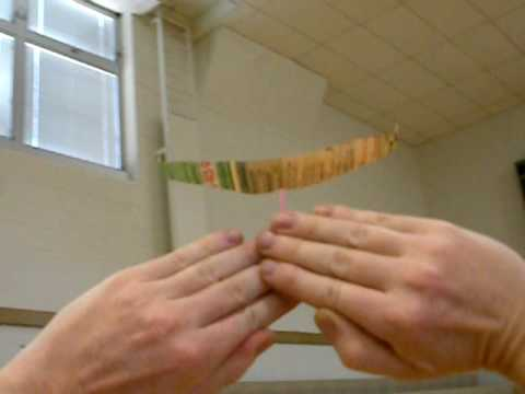 Paper Airplane Flight by Hands Only