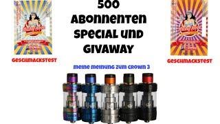 Fazit zum Uwell Crown 3 + 500 Abonnenten Special (deutsch)