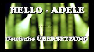 Hello - Adele Übersetzung Deutsch(, 2015-10-31T16:46:15.000Z)