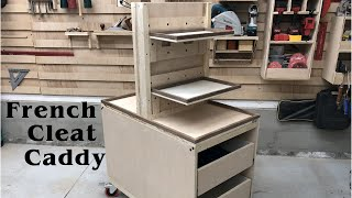 French Cleat Caddy // How To - Woodworking