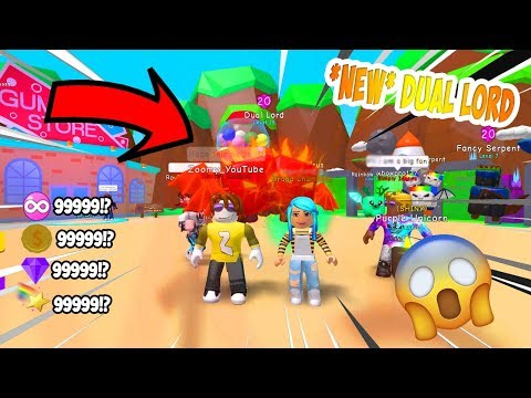 *NEW* DUAL LORD IS OP UPDATE 31 - BUBBLE GUM SIMULATOR