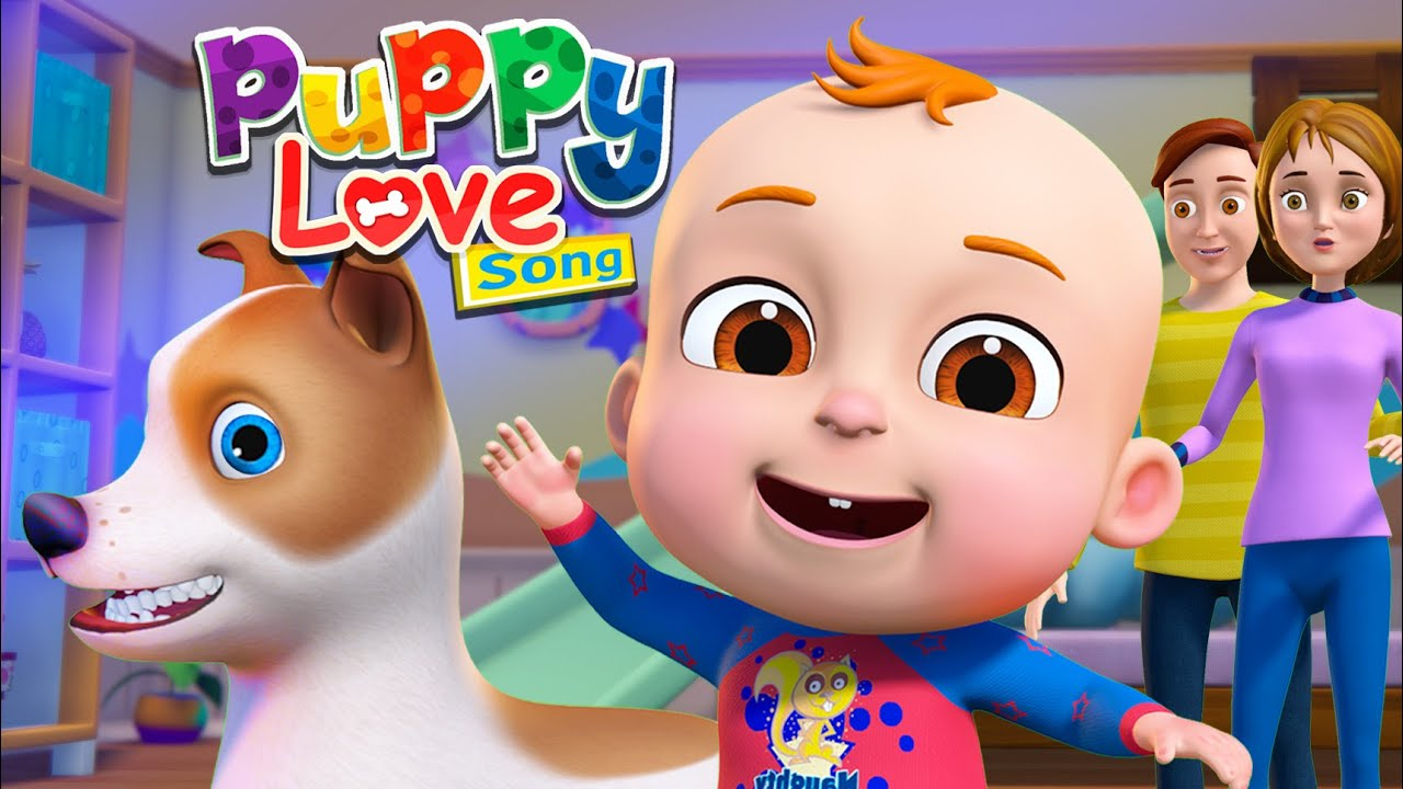 Puppy Song (My Dog Song) And More Nursery Rhymes & Kids Songs | Demu Lily Bobo | Baby Ronnie Rhymes