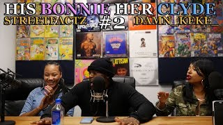 HIS BONNIE - HER CLYDE #2 - DID STREETZ TAKE HIS FIRST L ? FANS BLACK ON SAMMY thumbnail