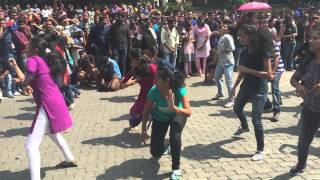 Run Kerala Run Flash Mob at Technopark for National Games 2015