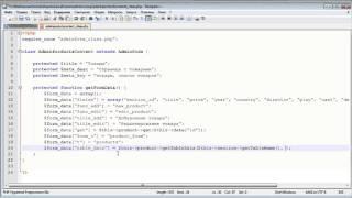 Создание движка. ADMIN панель 5.8