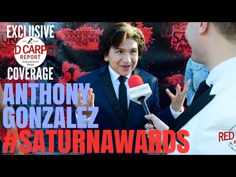 Anthony Gonzalez #Coco interviewed at the 44th Annual Saturn Awards Red Carpet #SaturnAwards