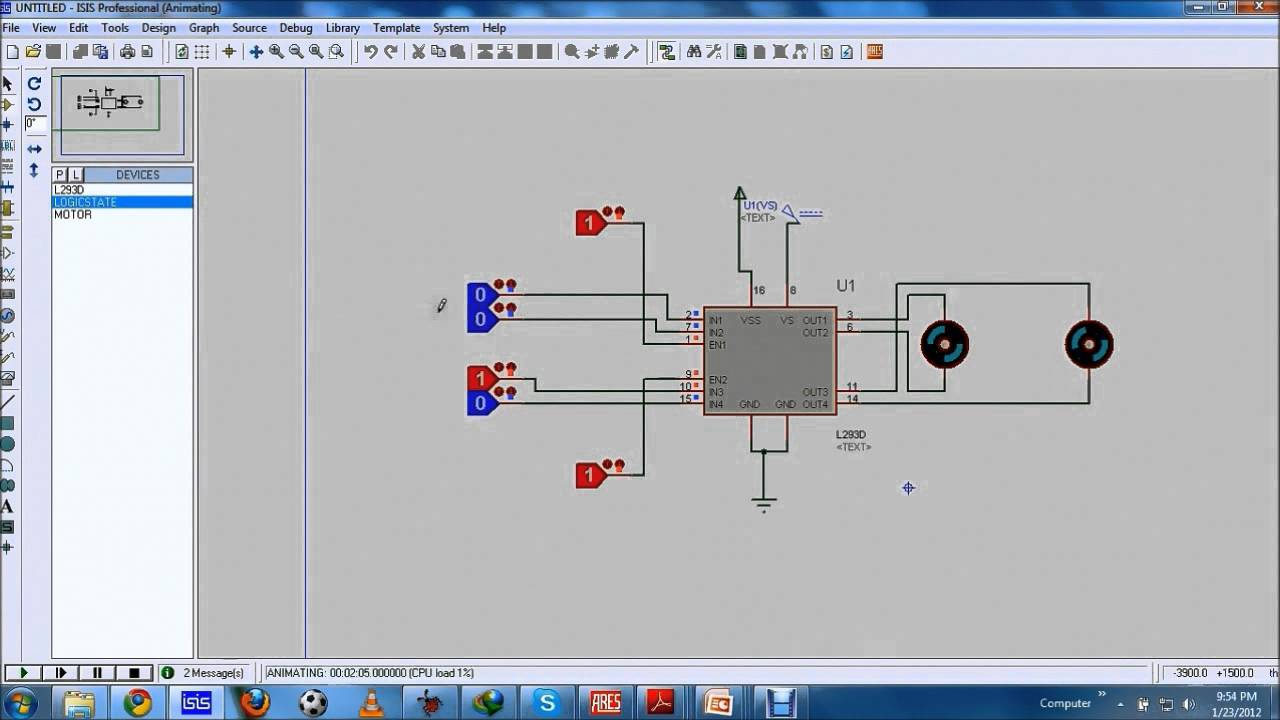 2 introduction to dc motor driver ic l293d part 2 of 2 youtube introduction to dc motor driver ic l293d part 2 of 2 sciox Choice Image