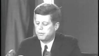 John F. Kennedy - ex-président  U.S.A  -patriotisme et  grand défi