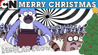Regular Show | Christmas In 5D! | Cartoon Network UK