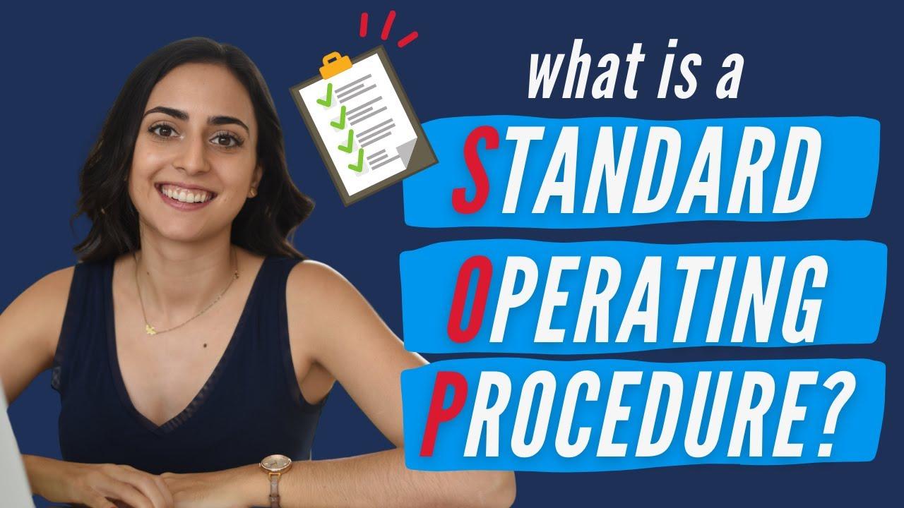 What is an SOP (Standard Operating Procedure)? | Lifehack Method