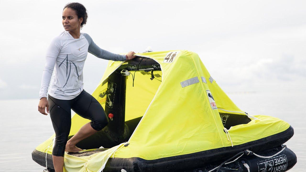 CAST AWAY in a Life Raft — Sailing Uma [Step 228]