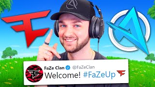 Have I *ACTUALLY* joined FaZe Clan...!?