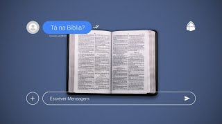 ???? TÁ NA BÍBLIA? #03 - JULHO 2021