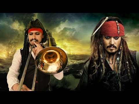 Pirates of the caribbean Trombone