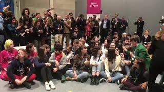 Greta Thumber acude a la COP25 para participar en la sentada de Fridays for Future