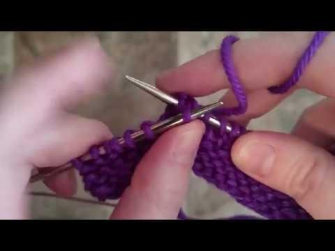 How to knit skpo aka skp aka s1,k1,psso left leaning decrease.
