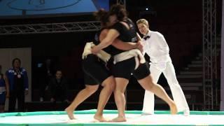 WU - 95kg - Semi-Final - Sheynova  Nadia (BUL) vs Dvoretskaya Marina (RUS)