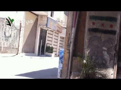 إطلاق نار عشوائي من عصابات الأمن 2012/6/29 دمشق جوبر/e