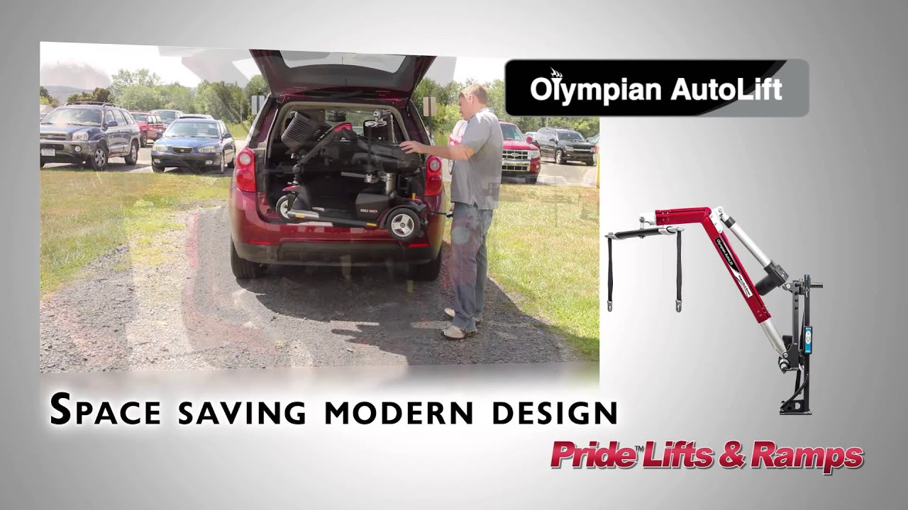 Pride Olympian AutoLift | Drive Master Mobility