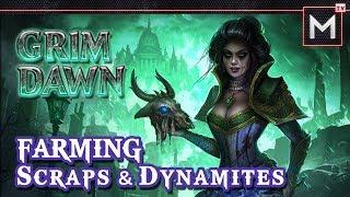 How To Farm Scraps & Dynamites   Grim Dawn (aom)