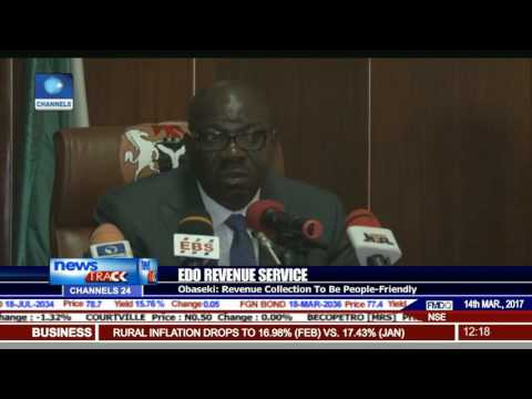 Obaseki Swears In New Board Of Internal Revenue Service