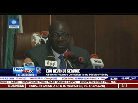 Obaseki Swears In New Board Of Internal Revenue Service