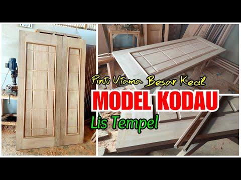 pintu-utama-kodau,-cara-singkat-membuatny-i-kodau-main-door-diy-wood-i-door-of-house