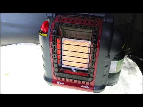 MR HEATER PORTABLE BUDDY PROPANE HEATER REVIEW