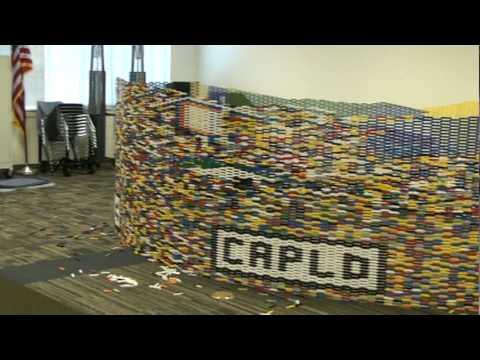 Cary Area Library Lego Tower Program January 2010