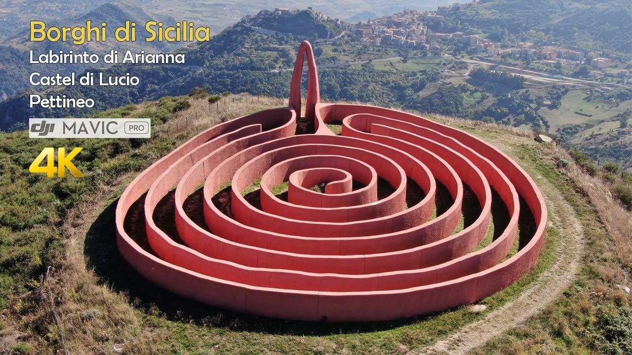 Borghi di Sicilia - Castel di Lucio e Labirinto di Arianna ...