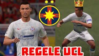 RONALDO REGELE CHAMPIONS LEAGUE / CARIERA CU FCSB FIFA 21 #24
