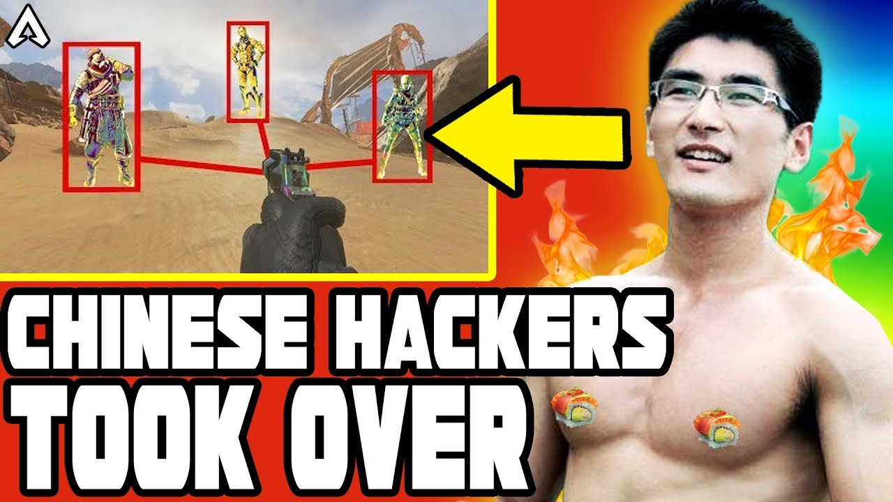 CHINESE HACKERS in APEX LEGENDS develop INSANE CHEAT PROGRAM to STOP other CHEATERS !