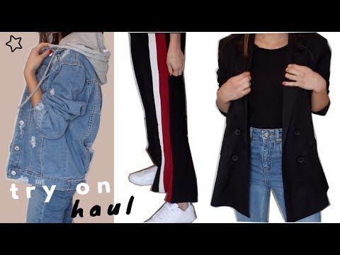 TRENDY SPRING TRY-ON FASHION HAUL 2018 | Eileen Fisher, Shein