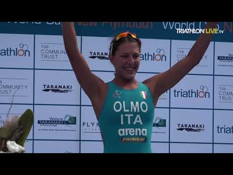2019 New Plymouth ITU Triathlon World Cup -  elite women's highlights