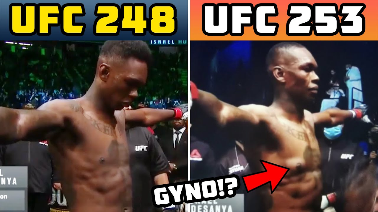 Israel Adesanya Suddenly Develops Gyno From Steroid Use!? | Gynecomastia Science Explained