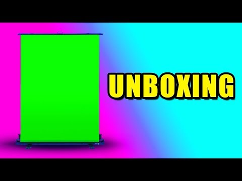 Elgato Green Screen & Cam Link Unboxing (Live Stream Highlight)