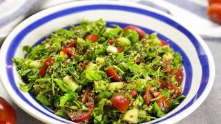 Зеленый салат с киноа - вкусно, быстро и ОЧЕНЬ полезно!