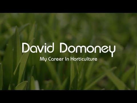 David Domoney   My Career In Horticulture