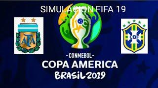 Copa América|Semifinal|Brasil vs Argentina