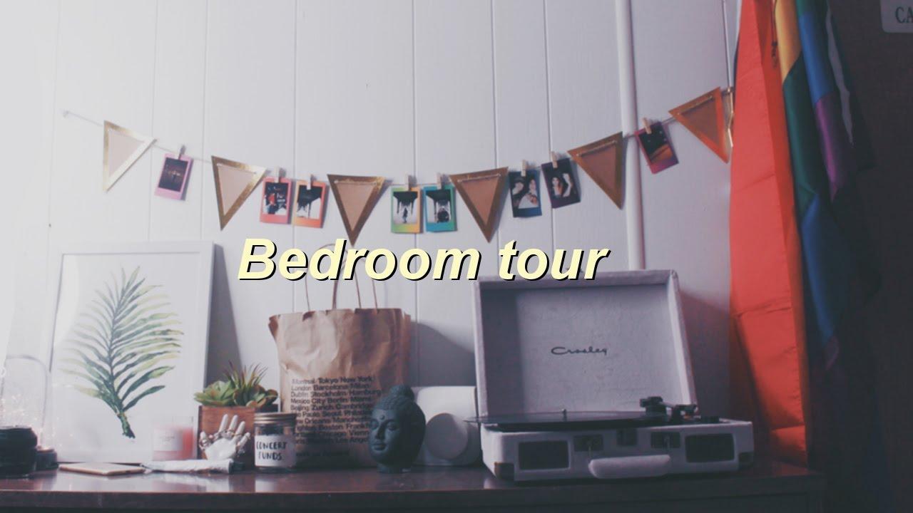 Bedroom Tour Tumblr OvergrowncleanVintage Aesthetic - Vintage room tumblr