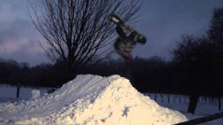 learning how to do a backflip on a snowboard wildcat