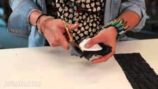 Make a DIY Polka Dot Tee!
