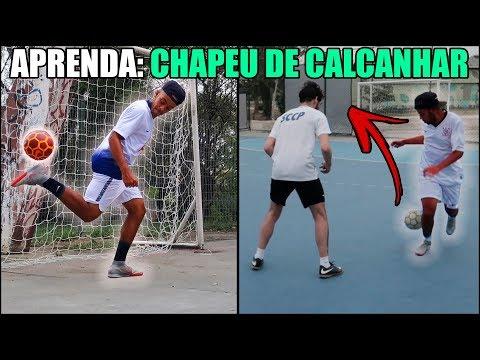 APRENDA O CHAPEU DE CALCANHAR - CATAPULTA DO FUTSAL