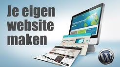 Je eigen website maken in WordPress