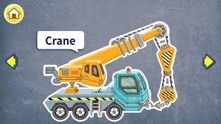 how Crane works, illustration Crane works, games Baby Kids