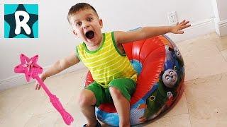 Томас и его Друзья ФОКУС-ПОКУС Паровозик Томас Видео для Детей Thomas & Friends Fanny Video for Kids