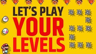 Super Mario Maker - Submit your Levels and Let's Play