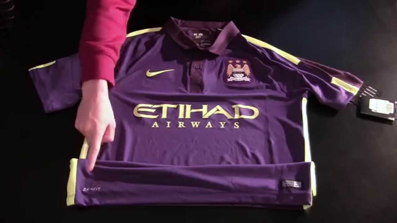 big sale eb106 34a98 Manchester city 2014-15 Third Jersey Flash Kit By Nike
